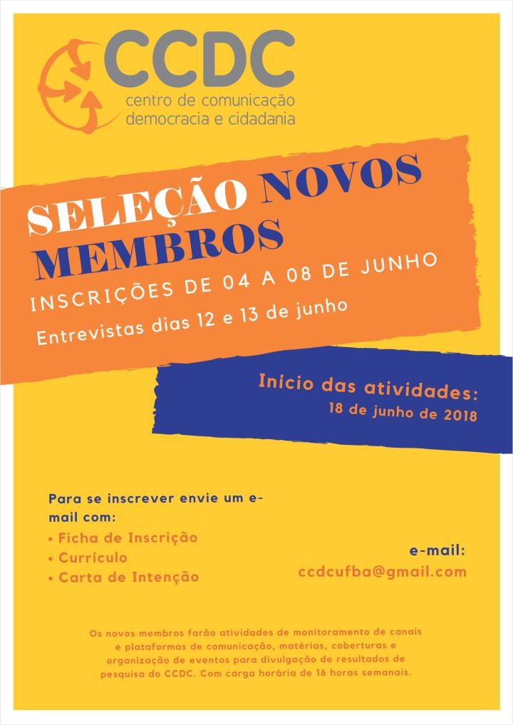 Cartaz do CCDC Novos Membros(1)